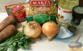Овощная поджарка – рецепт пошаговый с фото