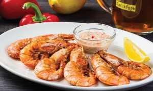 Жареные креветки с чесноком и базиликом – рецепт пошаговый с фото