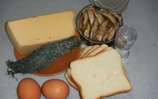 Гренки с яйцом и чесноком на сковороде – рецепт пошаговый с фото