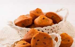 Кексы с изюмом и цукатами – рецепт пошаговый с фото