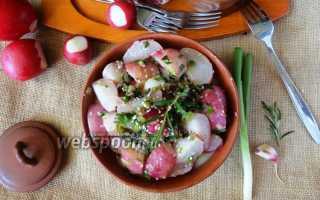Вкусный жареный редис – рецепт пошаговый с фото