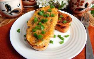 Бутерброды с яйцом и сыром – рецепт пошаговый с фото