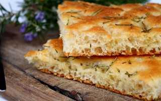 Фокачча с паприкой и оливковым маслом – рецепт пошаговый с фото