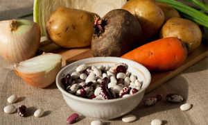 Борщ с фасолью – рецепт пошаговый с фото