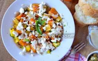 Пирог с тыквой и козьим сыром – рецепт пошаговый с фото