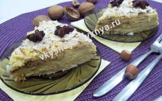 Быстрый торт без выпечки из лаваша и лимонного курда – рецепт пошаговый с фото