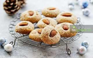 Австралийское миндальное печенье – рецепт пошаговый с фото