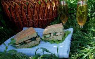 Омлет с курицей в чиабатте – рецепт пошаговый с фото
