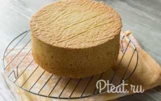 Классический бисквит – рецепт пошаговый с фото