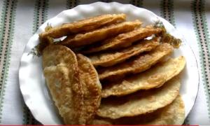 Хрустящие чебуреки с мясом – рецепт пошаговый с фото