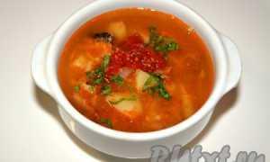 Суп с булгуром и килькой в томатном соусе – рецепт пошаговый с фото