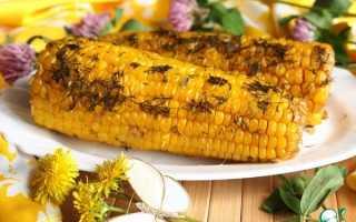 Кукуруза с укропом запеченная в рукаве – рецепт пошаговый с фото