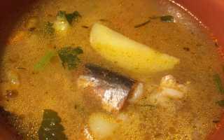 Рисовый суп с консервированным лососем и овощами – рецепт пошаговый с фото