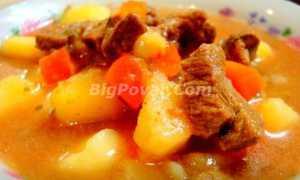 Густой суп из овощей с говяжьими тефтелями – рецепт пошаговый с фото