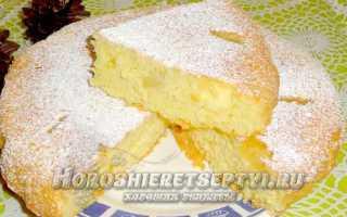 Пирог с консервированными ананасами – рецепт пошаговый с фото