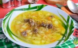 Простой суп с овощами и макаронами – рецепт пошаговый с фото