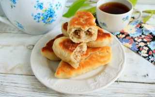 Жареные пирожки с вареной говядиной – рецепт пошаговый с фото