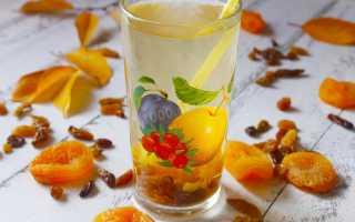 Компот из изюма и урюка – рецепт пошаговый с фото