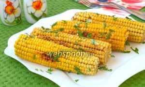 Жареная кукуруза – рецепт пошаговый с фото