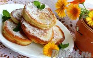 Пышные оладьи на сметане с содой – рецепт пошаговый с фото