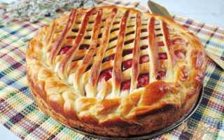 Дрожжевой пирог с джемом – рецепт пошаговый с фото