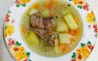 Суп для детей на индоутином бульоне с вермишелью – рецепт пошаговый с фото