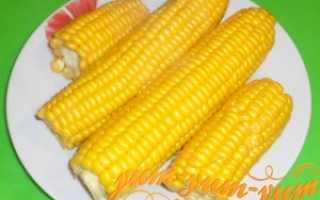 Кукуруза на пару – рецепт пошаговый с фото