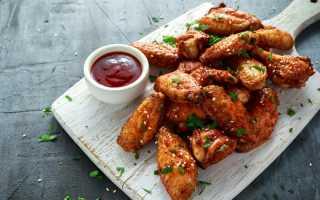 Куриные крылья запеченные в духовке с куркумой и мускатным орехом – рецепт пошаговый с фото