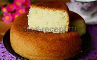Бисквитный торт в мультиварке – рецепт пошаговый с фото
