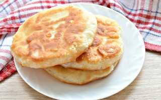 Сырные лепешки с начинкой на сковороде – рецепт пошаговый с фото