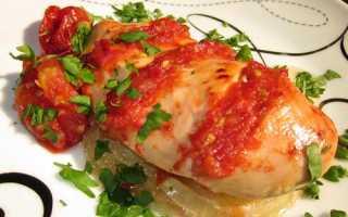 Помидоры с заливным из куриной грудки – рецепт пошаговый с фото