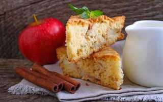 Диетический пирог Шарлотка – рецепт пошаговый с фото