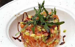 Тартар из лосося – рецепт пошаговый с фото