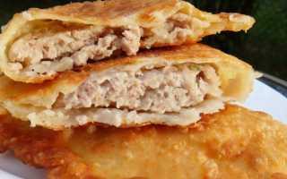 Вкусные чебуреки с мясом (говядина и гусь) – рецепт пошаговый с фото