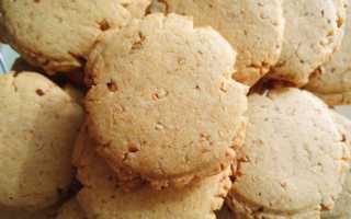 Арахисовое печенье – рецепт пошаговый с фото