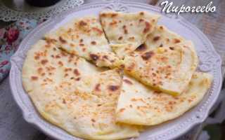 Хычины с картофельным пюре и сыром – рецепт пошаговый с фото