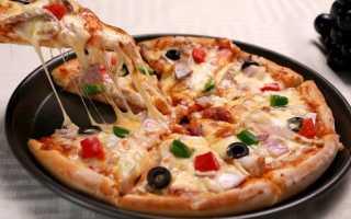 Нежная пицца на сковороде – рецепт пошаговый с фото