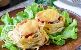 Яичные гнезда в духовке – рецепт пошаговый с фото