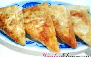 Ленивые пирожки из лаваша на сковороде – рецепт пошаговый с фото