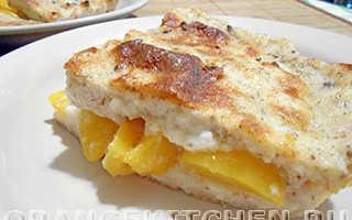 Каша манная с консервированными персиками – рецепт пошаговый с фото