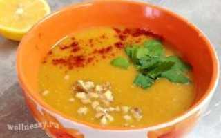 Суп из чечевицы постный – рецепт пошаговый с фото