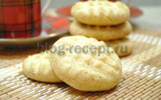 Песочное печенье на сливочном масле с сахарной пудрой – рецепт пошаговый с фото