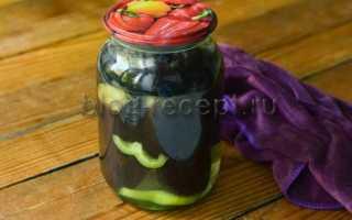 Маринованные баклажаны Фурор – рецепт пошаговый с фото