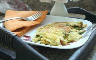 Омлет из кефира, болгарского перца и куриных яиц – рецепт пошаговый с фото