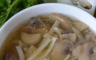 Лапша с луком и грибами – рецепт пошаговый с фото