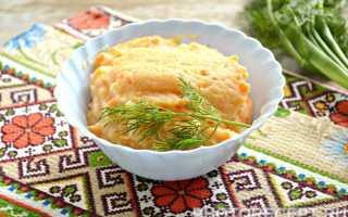 Картофельное пюре с морковью – рецепт пошаговый с фото