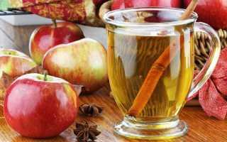 Чай чёрный с замороженными яблоками и лимоном – рецепт пошаговый с фото