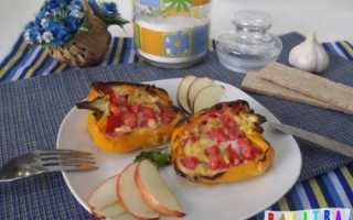 Яичница в болгарском перце в духовке по-итальянски – рецепт пошаговый с фото