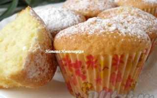 Лимонно-ванильный кекс – рецепт пошаговый с фото