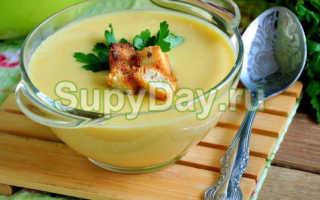 Рыбный крем-суп с плавленым сыром – рецепт пошаговый с фото
